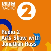 Logo of the podcast This week sees the return of Jonathan Ross with special guests Imogen Stubbs, Val McDermid & Romesh…