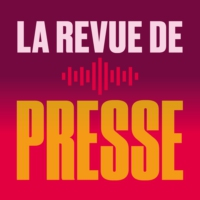 Logo of the podcast La revue des Unes - Par Sandra Zimmerli - 04.08.2020