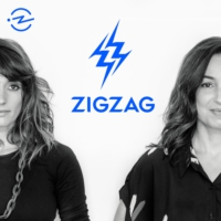 Logo of the podcast ZigZag