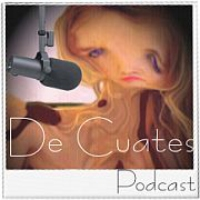 Logo of the podcast De Cuates Podcast