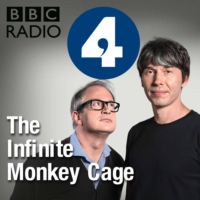 Logo of the podcast The Infinite Monkey Cage USA Tour: Los Angeles