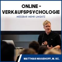 Logo of the podcast Mehr Online-Umsatz mit Verkaufspsychologie - Online überzeugen - Neuromarketing