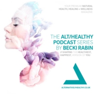 Logo of the podcast THE ALT/HEALTHY PODCAST BY BECKI RABIN