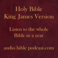 Logo du podcast Day 127: 20 Proverbs 12-13; Genesis 31-36; 19 Psalms 27-31; 43 John 16-20