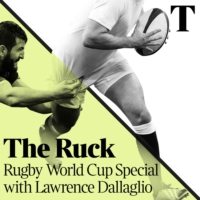 Logo of the podcast The Ruck Rugby World Cup Podcast