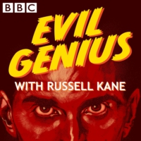 Logo of the podcast Evil Genius with Russell Kane