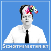Logo of the podcast Schøtministeriet