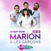 Logo of the podcast Marion et les garçons - le Night-Show
