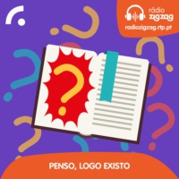 Logo of the podcast Penso, Logo Existo