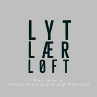 Logo of the podcast Lyt, Lær, Løft