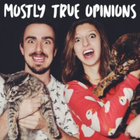 Logo of the podcast Mostly True Opinions