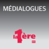 Logo of the podcast La 1ère - Médialogues