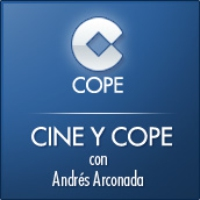 Logo of the podcast Cine y COPE del 21 de agosto