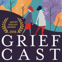 Logo of the podcast Griefcast with Cariad Lloyd