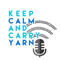 Logo of the podcast Keep Calm and Carry Yarn: A Knitting and Crochet Podcast