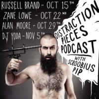 Logo du podcast James Acaster - Distraction Pieces Podcast with Scroobius Pip #104