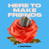 Logo of the podcast Here To Make Friends - A Bachelor Recap Show