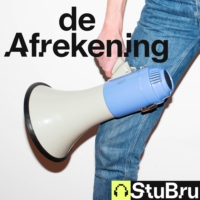Logo of the podcast De Afrekening