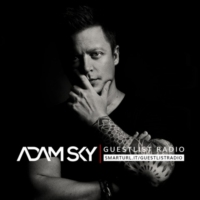 Logo of the podcast 002 – Adam Sky – GuestList Radio (w/ special guest MAKJ)