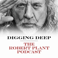Logo of the podcast Digging Deep with Robert Plant