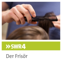 Logo of the podcast SWR4-Frisör zur Promi-Auktion in München