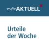 Logo du podcast MDR AKTUELL Urteile der Woche