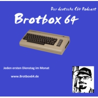 Logo of the podcast Brotbox64 - Der deutsche c64 Podcast