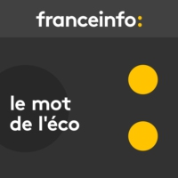 Logo of the podcast Le mot de l'éco. Revenu universel