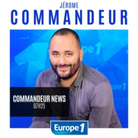 "Logo du podcast Commandeur News - Dominique Besnehard : ""Burkini, mon amour !"""
