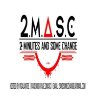 Logo of the podcast 2 minutes and some change (2masc)