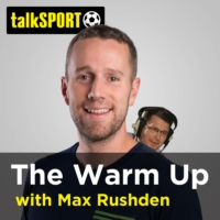 Logo of the podcast The Warm Up with Max Rushden