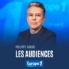 Logo of the podcast Les audiences - Philippe Vandel