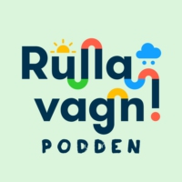 Logo of the podcast Rulla vagn-podden