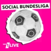 Logo of the podcast 1LIVE Social Bundesliga