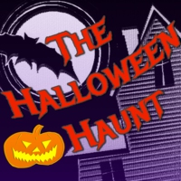 "Logo of the podcast ""The Haunted Beach"" by Mary Darby Robinson"