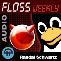 Logo du podcast FLOSS Weekly (MP3)