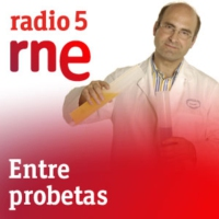 Logo of the podcast Entre probetas - Hepatitis C, zika y olimpiadas - 15/06/16
