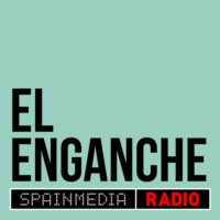 Logo of the podcast El Enganche