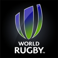 Logo of the podcast World Rugby