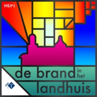 Logo of the podcast De Brand in het Landhuis