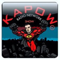 Logo of the podcast KAPOW Radio Show