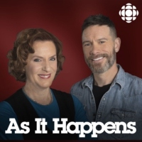 Logo of the podcast As It Happens from CBC Radio