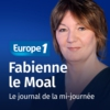 Logo of the podcast Le journal de la mi-journée - Fabienne Le Moal