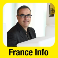 Logo of the podcast France Info junior 30.05.2016