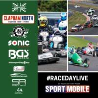 Logo of the podcast #RaceDayLive