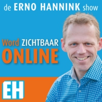 Logo of the podcast de Erno Hannink Show | Word Online Zichtbaar | praktische tips, inspiratie en interviews