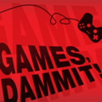 Logo of the podcast 1UP.com - Games, Dammit! - 08/12/2011