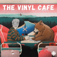 Logo of the podcast Vinyl Cafe