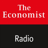 Logo of the podcast The Economist asks: How do you win the AI race?