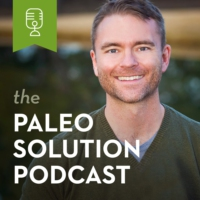 Logo of the podcast The Paleo Solution - Episode 371 - Dr. James DiNicolantonio - The Salt Fix